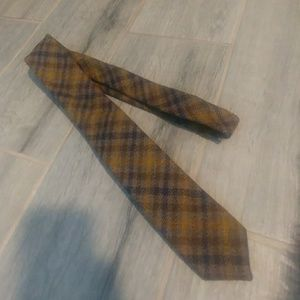Brand New J.Crew Men's Plaid Tie (handmade in USA)